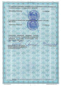 Лицензия на перевозки, стр. 3